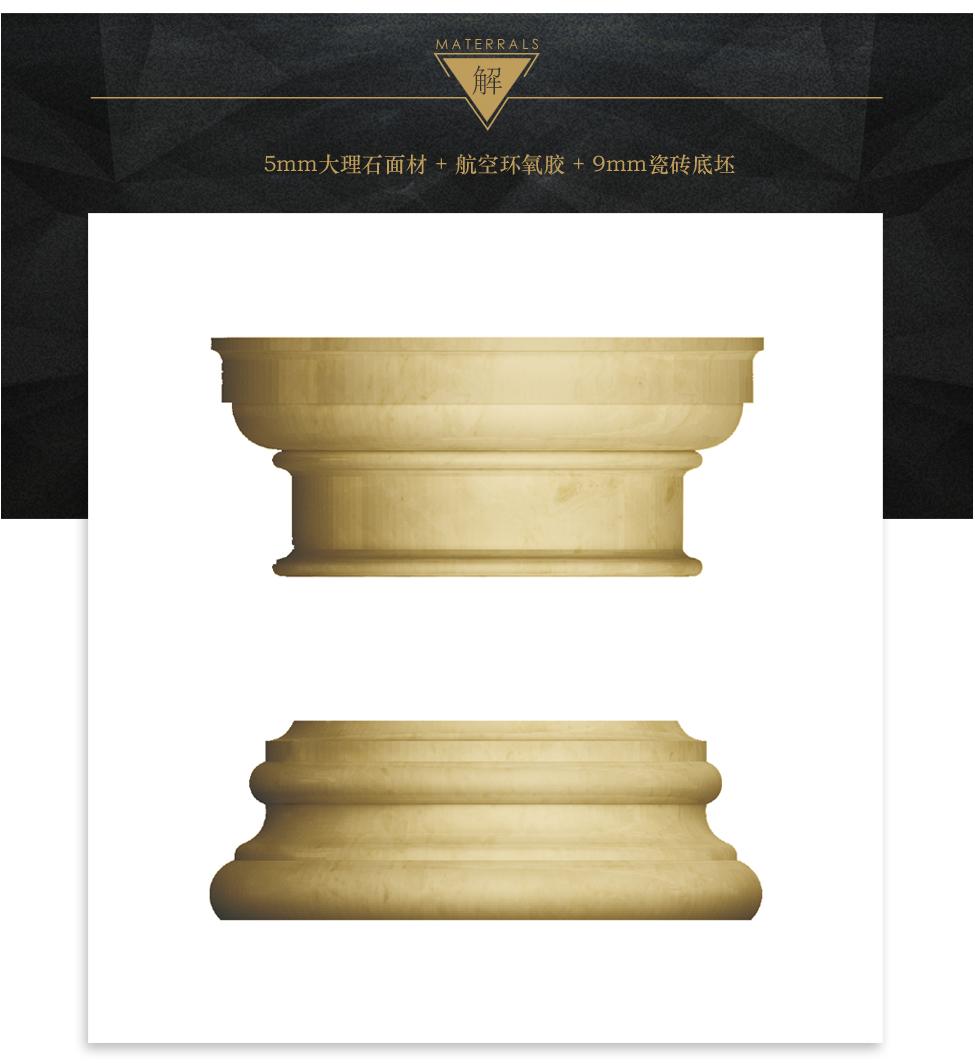 欧式圆柱 多立克式