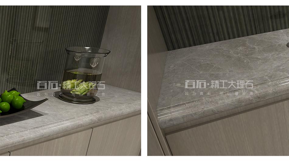 精工石材餐边柜 CS410-66 意大利灰